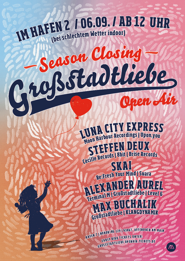 Plakat Gro·stadtliebe Open Air -14- SEASON CLOSING 2014